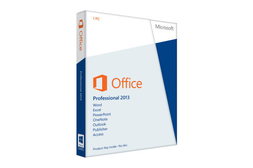 Microsoft Office 2013 Professional Retail